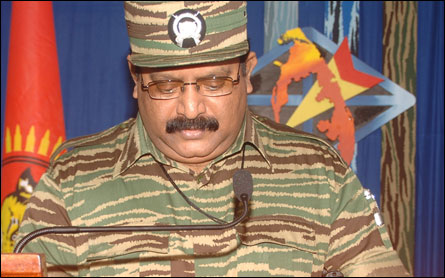 Leader V Prabakaran's Heros day speech 2008 2