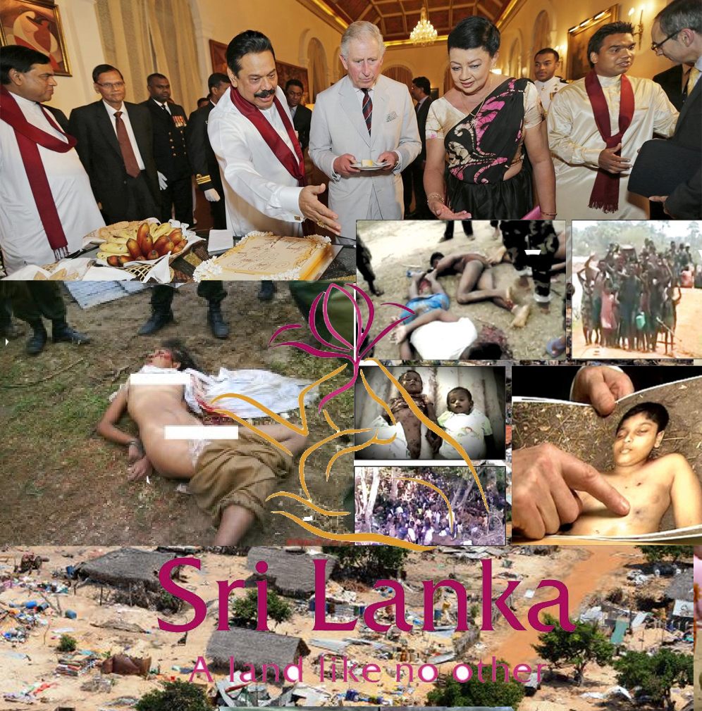 Prince Charles Sri Lanka war criminals
