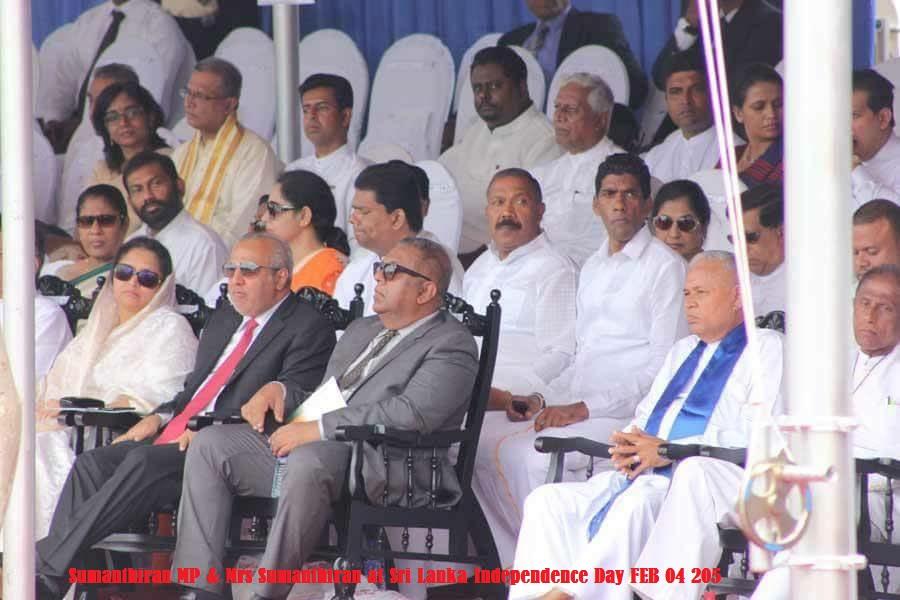 Sumanthiran at Sri Lanka Independence Day  Feb 4 2015