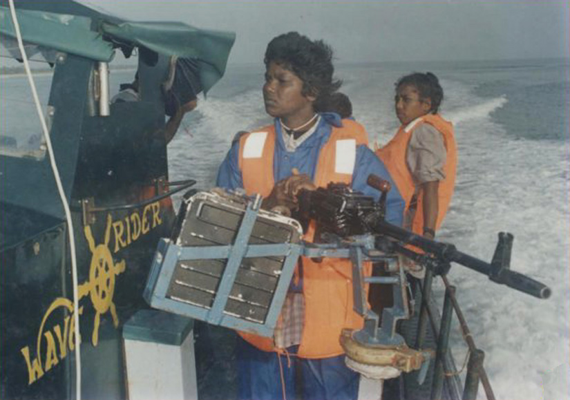 sea tigers gun