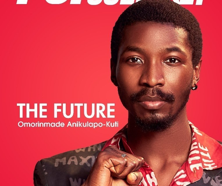 Omorinmade Anikulapo-Kuti dazzles on the cover of Pop Culture!