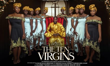 """See Behind The Scene Shots From Blessing Egbe's Forthcoming Movie, """"The Ten Virgins"""""""