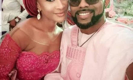 Even Politics Couldn't Stop Banky W From His Lovey-Dovey Ways With Wife, Adesua
