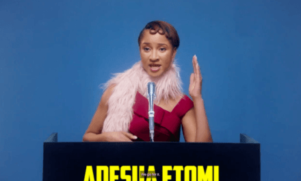 """""""It was amazing. I had a lot of fun""""- Adesua Etomi Gives Inside Details on Vogue Shoot"""
