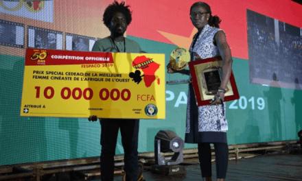 FESPACO: Female Senegalese Filmmaker, Angèle Diabang wins bronze boot