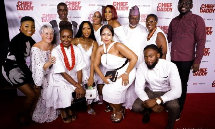 Photos from Chief Daddy's Netflix premiere party