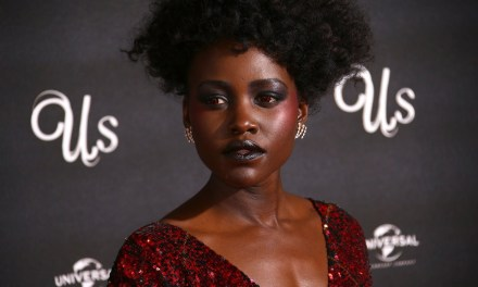"""Lupita Nyong'o is red hot at the London premiere of """"Us"""""""