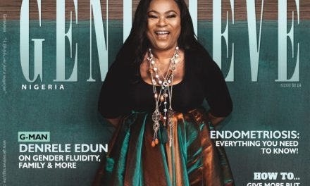 Sola Sobowale is a Breath of Fresh Air on the Cover of Genevieve Magazine