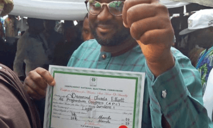 Politics is Not as Easy as Acting – Desmond Elliot
