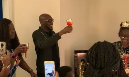 2baba Surprises his Daughter for her 13th Birthday