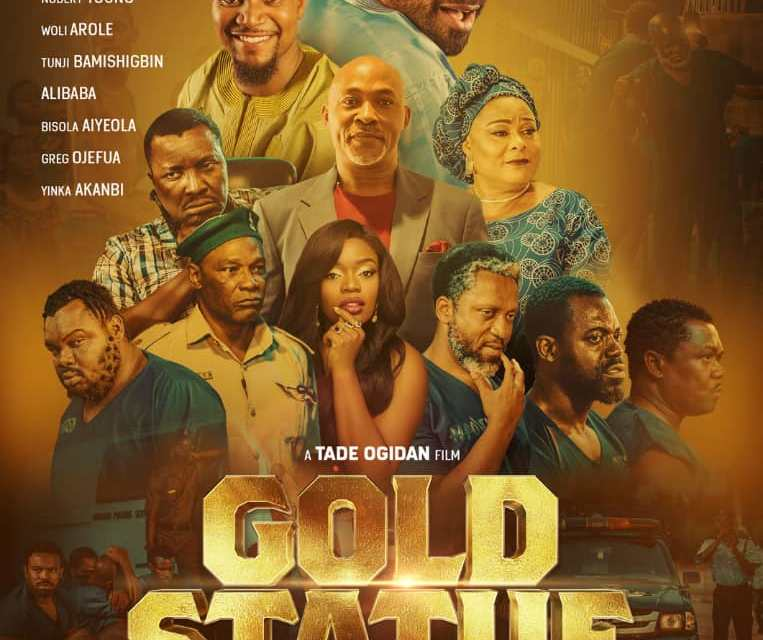 "Tade Ogidan is Back with New Comedy Drama ""Gold Statue"""