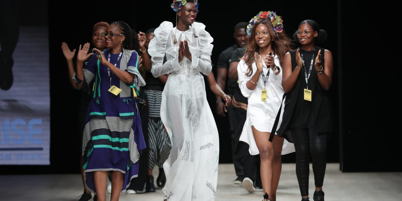 Ituen Basi at 2019 ARISE Fashion Week