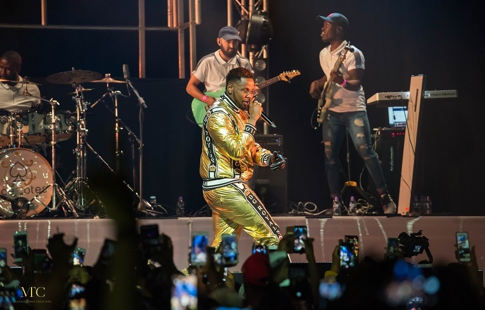 Check Out Photos from Kizz Daniel's First NBS World Tour Concert
