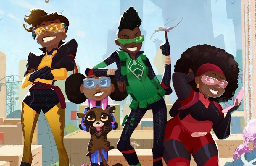 """Yes! Netflix Acquires First African Animated Series """"Mama K's Team 4"""""""