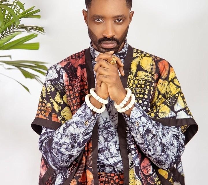 "Ric Hassani is Striking in Patrickslim's ""Okunrin Igbalode"""