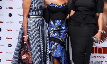 "Beverly Naya Premieres Documentary ""Skin"" in Lagos"