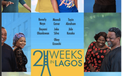 "Watch Official Trailer For New Movie ""2 Weeks In Lagos"""