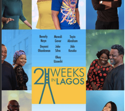 """Watch Official Trailer For New Movie """"2 Weeks In Lagos"""""""