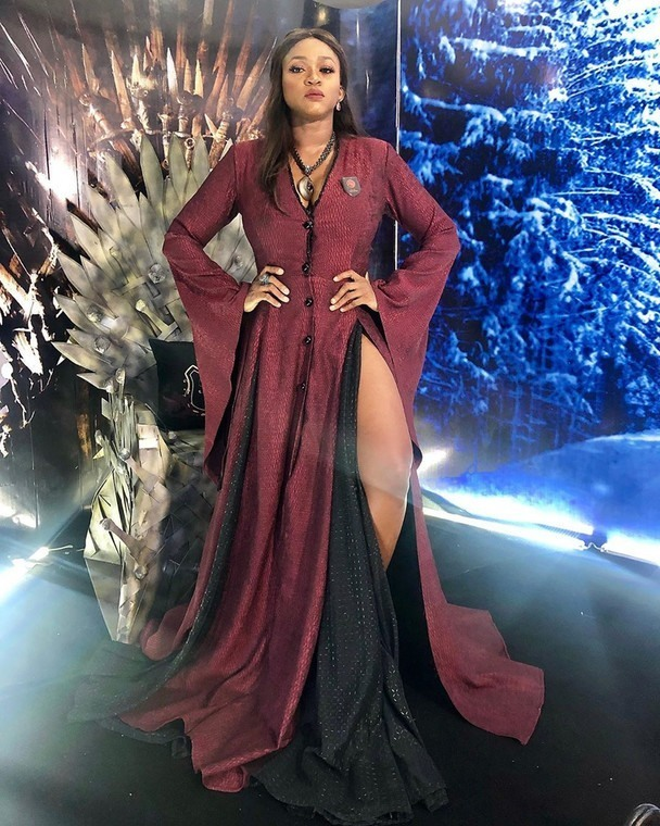 Waje as the Red Woman