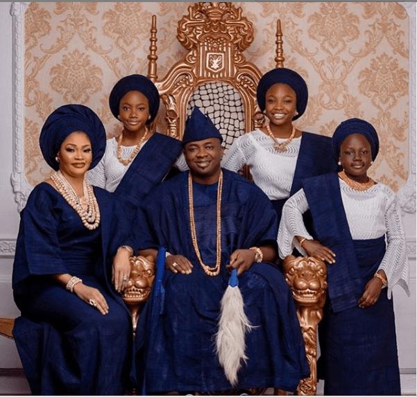 Oba of Ikate Kingdom Celebrates 16th Wedding Anniversary
