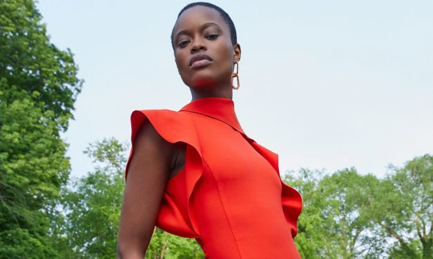 Mayowa Nicholas Stuns in Oscar de la Renta's 2020 Lookbook