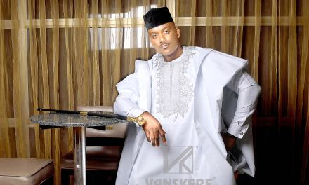 Vanskere Unveils New Agbada Collection