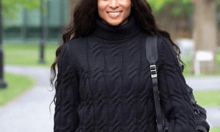 Ciara Celebrates First Day at Harvard Business School