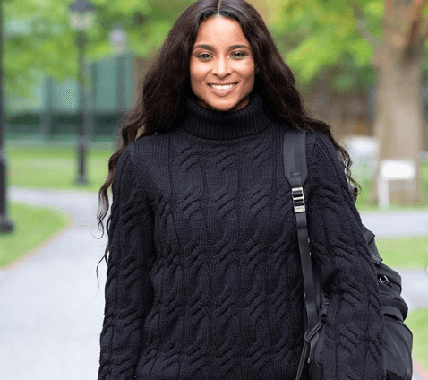 Ciara Celebrates First Day at Harvard Business School