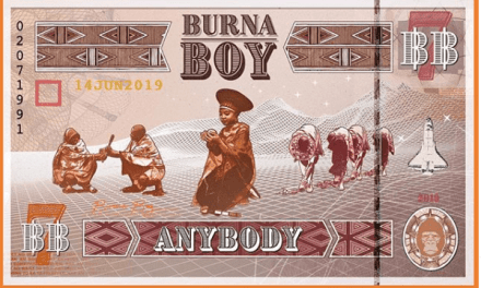 Watch: Burna Boy Out With New Single – 'Anybody'