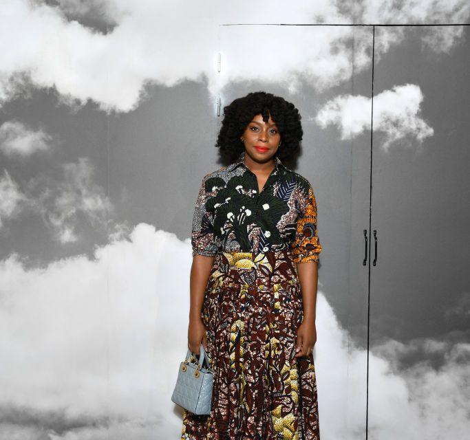 Chimamanda Ngozi Adichie Spotted in Dior Ensemble At Paris Fashion Week