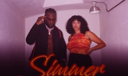 "Listen to Burna Boy & Mahalia's Slamming New Track ""Simmer"""