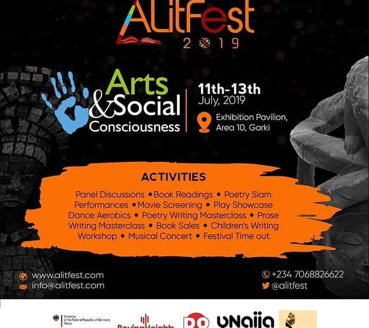 Brace Up For the 2019 Abuja Literary Society Festival #ALitFest2019