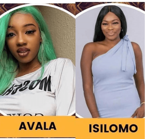 #BBNaija: The Journey Ends For Avala and Isilomo