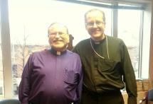 Piiskop Herz-Lane ja rektor Sander