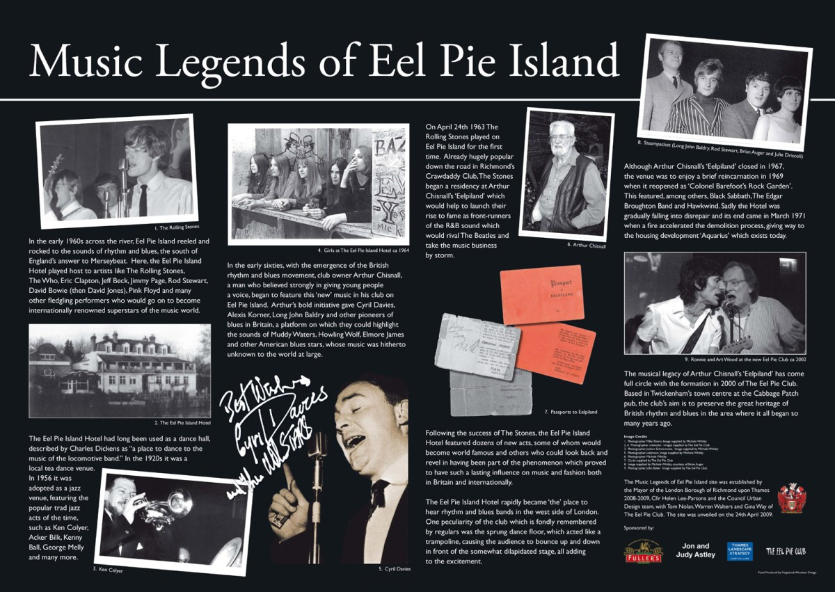 Image result for Eel Pie Island