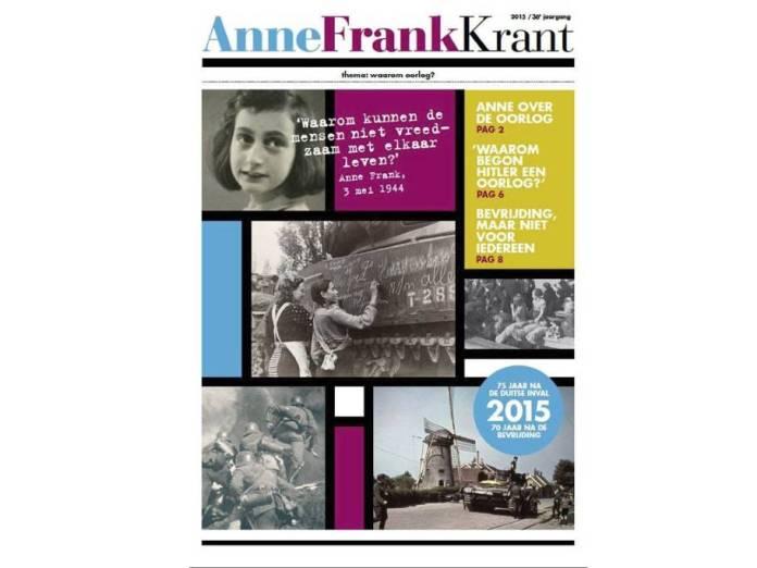 Anne Frank krant voor basisschoolleerlingen