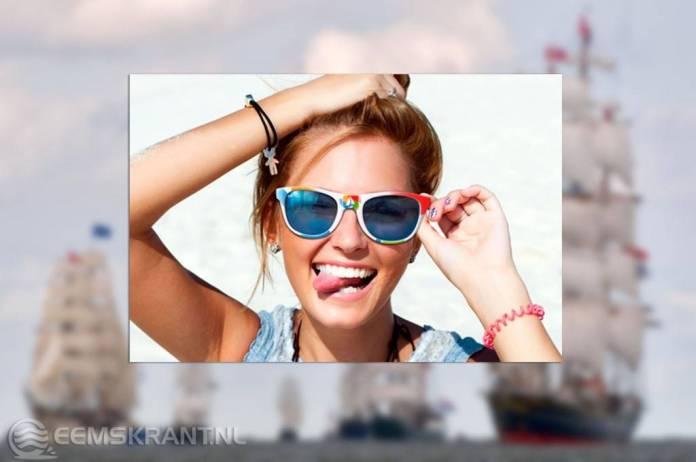 41118253df96ce Delfzijl – Maak een foto van de enige echte DelfSail zonnebril op je  vakantieadres of op een andere mooie locatie. Degene met de meest  verrassende