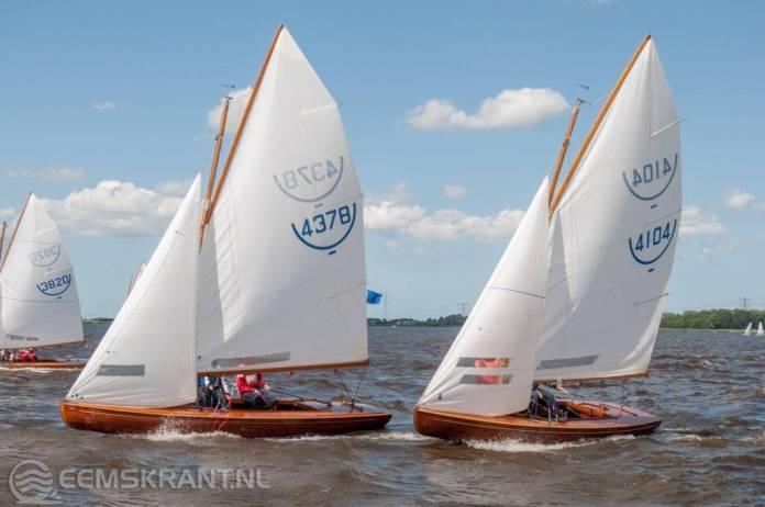 Weinig wind maakt het deelnemers Schildweek niet makkelijk