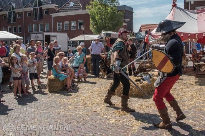Coopluydenmarkt in Appingedam op vrijdag 4 augustus