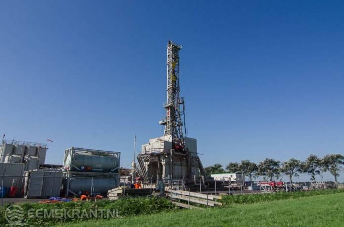 NAM haalt gesteentemonsters van 3 kilometer diepte uit Groninger-gasveld