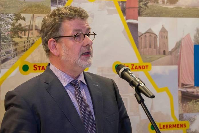 Burgemeester Loppersum Albert Rodenboog stopt per 1 juli 2018