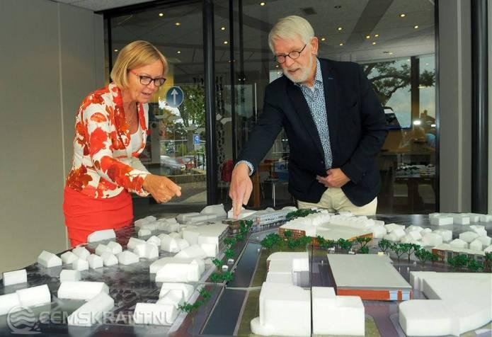 Maquette 'Hart van 't Hogeland' beschikbaar in het gemeentehuis van Uithuizen
