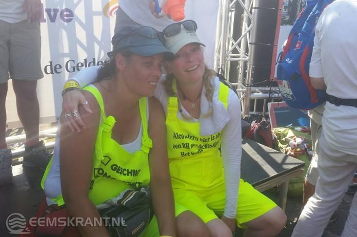 Diana en Fernanda uit Farmsum lopen wederom de Nijmeegse Vierdaagse