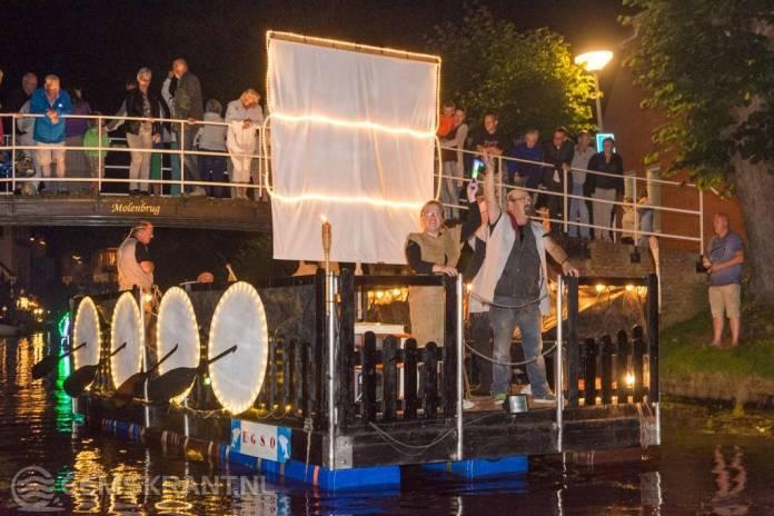 Gondelvaart Appingedam trekt weer duizenden toeschouwers