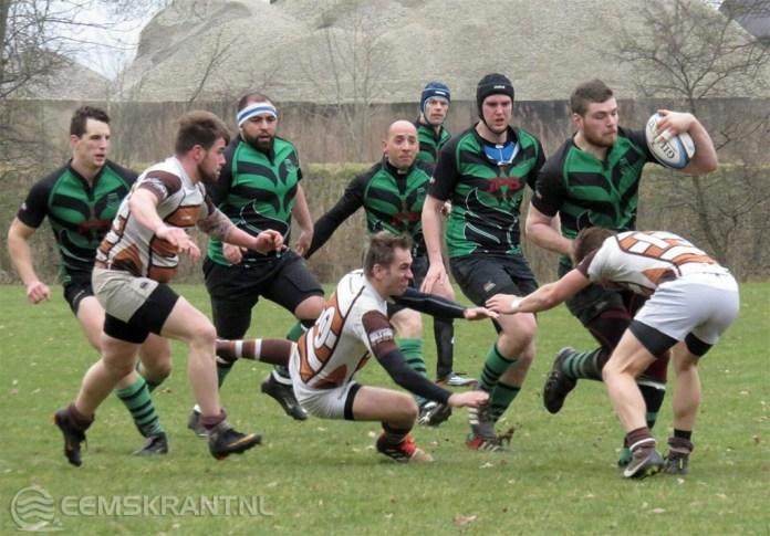 Rugbyclub Phoenix sterk tegen koploper