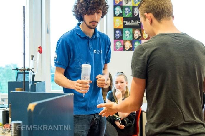 Wetenschapsdag VMBO leerlingen Eemsdeltacollege een groot succes