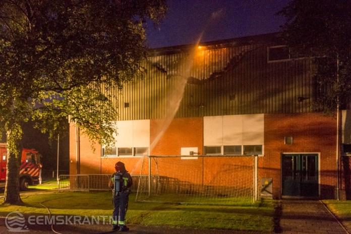 Voetbalclub DVC Appingedam vermoedt brandstichting tribune
