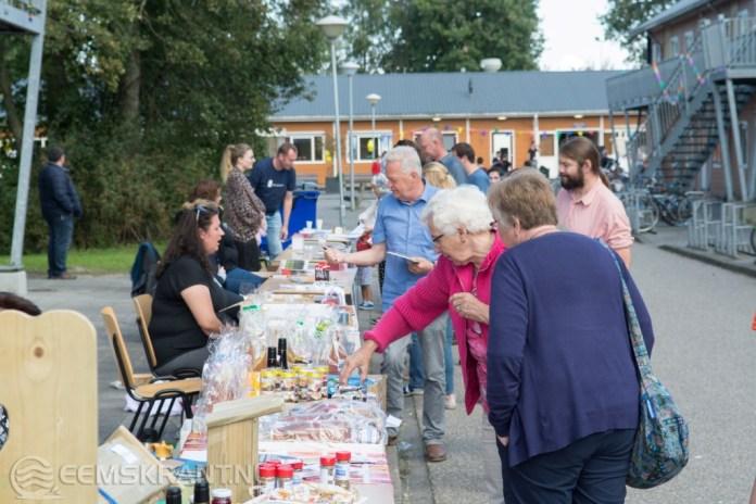 Gezamenlijke burendag AZC, Vliethoven en de ASWA goed bezocht