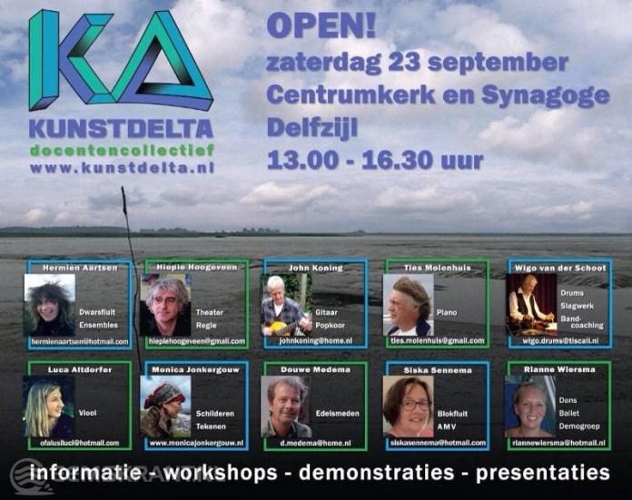 Kunstdelta geeft presentatie tijdens Muziekfestival Delfzijl