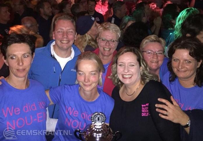 Dames Sloeproeivereniging Delfzijl Nederlands kampioen